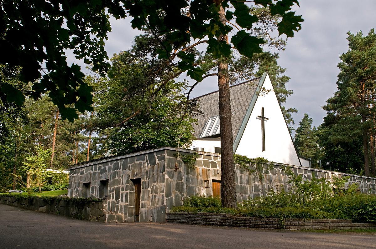 Metsolan hautausmaan siunauskappeli