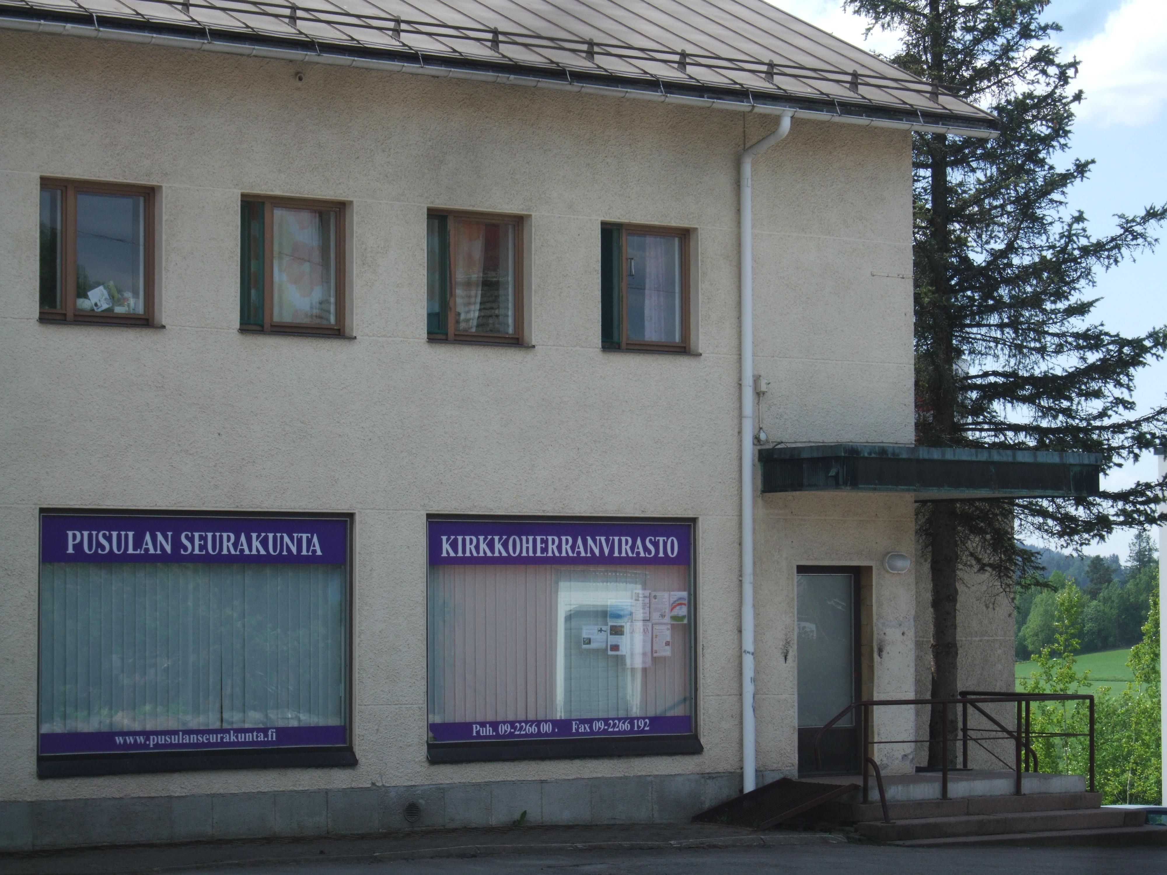 Pusulan seurakuntatoimisto